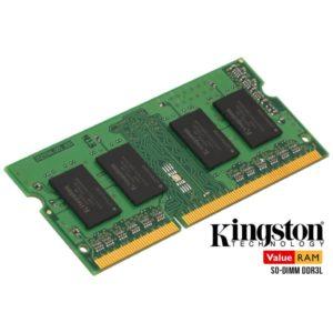 Kingston 4GB 1600MHz DDR3L 1.35V CL11 SO-DIMM ValueRAM (KVR16LS11/4) - 1
