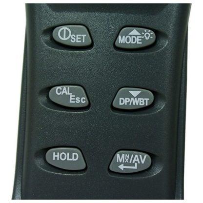 Kannettava sisäilmanlaadun tarkkuusmittari AO1-77535 (CO2, TEMP, RH, DPT, WBT) (A01-77535) - 4