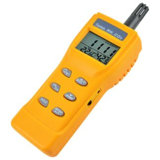Kannettava sisäilmanlaadun mittari AO1-77535 (CO2, TEMP, RH, DPT, WBT) (A01-7755) - 1