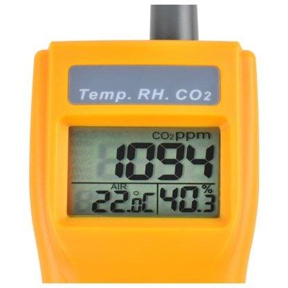 Kannettava sisäilmanlaadun mittari AO1-77535 (CO2, TEMP, RH, DPT, WBT) (A01-7755) - 3