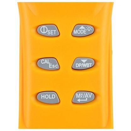 Kannettava sisäilmanlaadun mittari AO1-77535 (CO2, TEMP, RH, DPT, WBT) (A01-7755) - 4