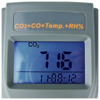 Kannettava tallentava sisäilmanlaadun tarkkuusmittari AO1-77597 (CO2, CO, TEMP, RH, DP, WB) (A01-77597) - 3