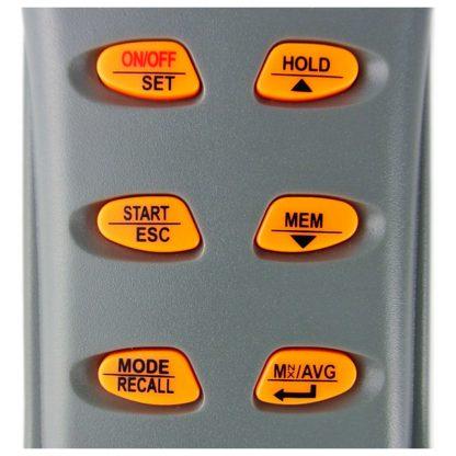 Kannettava tallentava sisäilmanlaadun tarkkuusmittari AO1-77597 (CO2, CO, TEMP, RH, DP, WB) (A01-77597) - 4