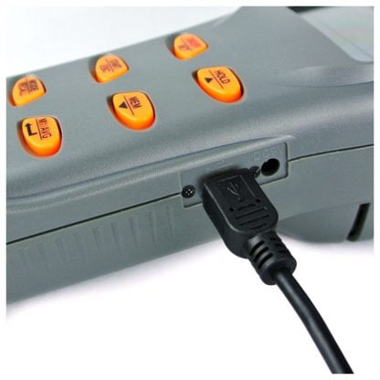 Kannettava tallentava sisäilmanlaadun tarkkuusmittari AO1-77597 (CO2, CO, TEMP, RH, DP, WB) (A01-77597) - 7