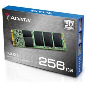 ADATA SU800 256GB 3D NAND SSD M.2 SATA3 (ASU800NS38-256GT-C) - 1