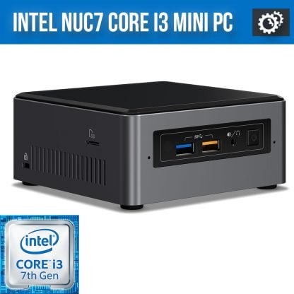 Intel NUC7 Core i3 Mini PC