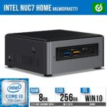 Intel NUC7 Home Mini PC valmispaketti
