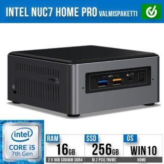 Intel NUC7 Home Pro Mini PC valmispaketti