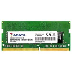 ADATA 4GB 2133MHz DDR4 CL15 SO-DIMM Premiere (AD4S2133W4G15-R) - 1