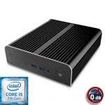 Intel NUC7 Core i5 Newton S7 passiivijäähdytetty Mini PC