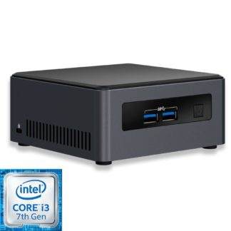 Intel NUC7i3DNH2E mini PC runko (BLKNUC7I3DNH2E) - 1