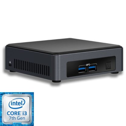 Intel NUC7i3DNK2E mini PC runko (BLKNUC7I3DNK2E) - 1