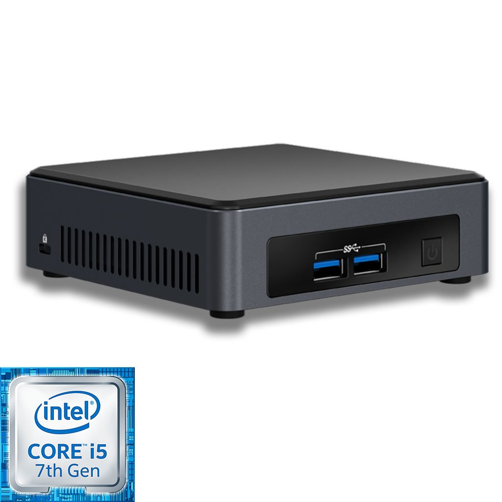 Intel NUC7i5DNK2E mini PC runko (BLKNUC7I5DNK2E) - 1