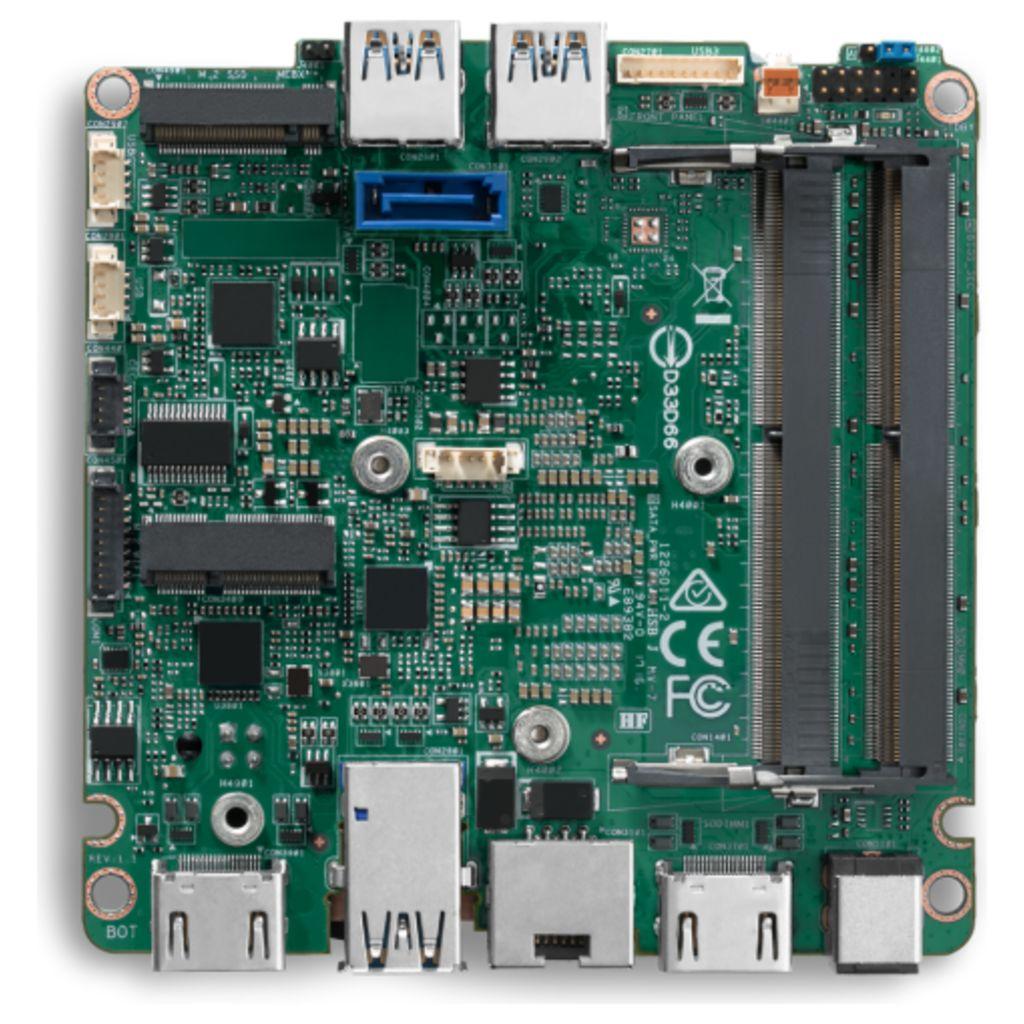 Intel NUC7i3DNBE Core i3 Mini PC emolevy (BLKNUC7I3DNBE) - 2