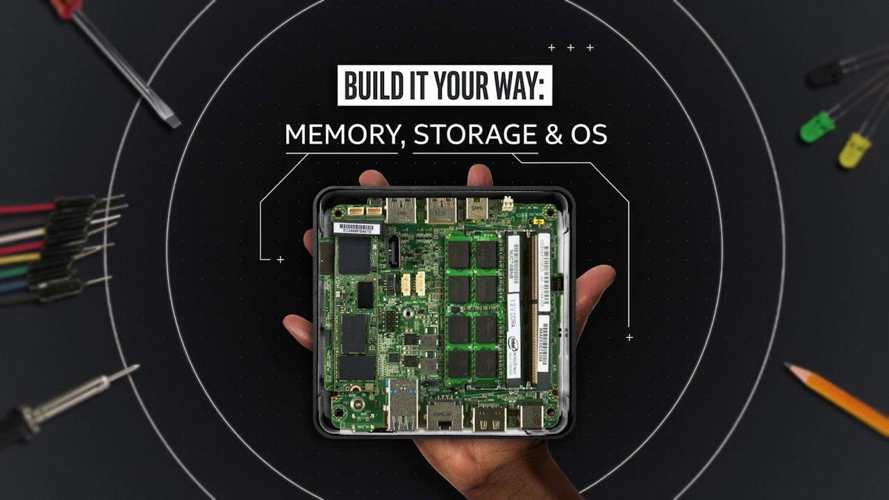 Suunnittele sinulle sopiva Intel NUC