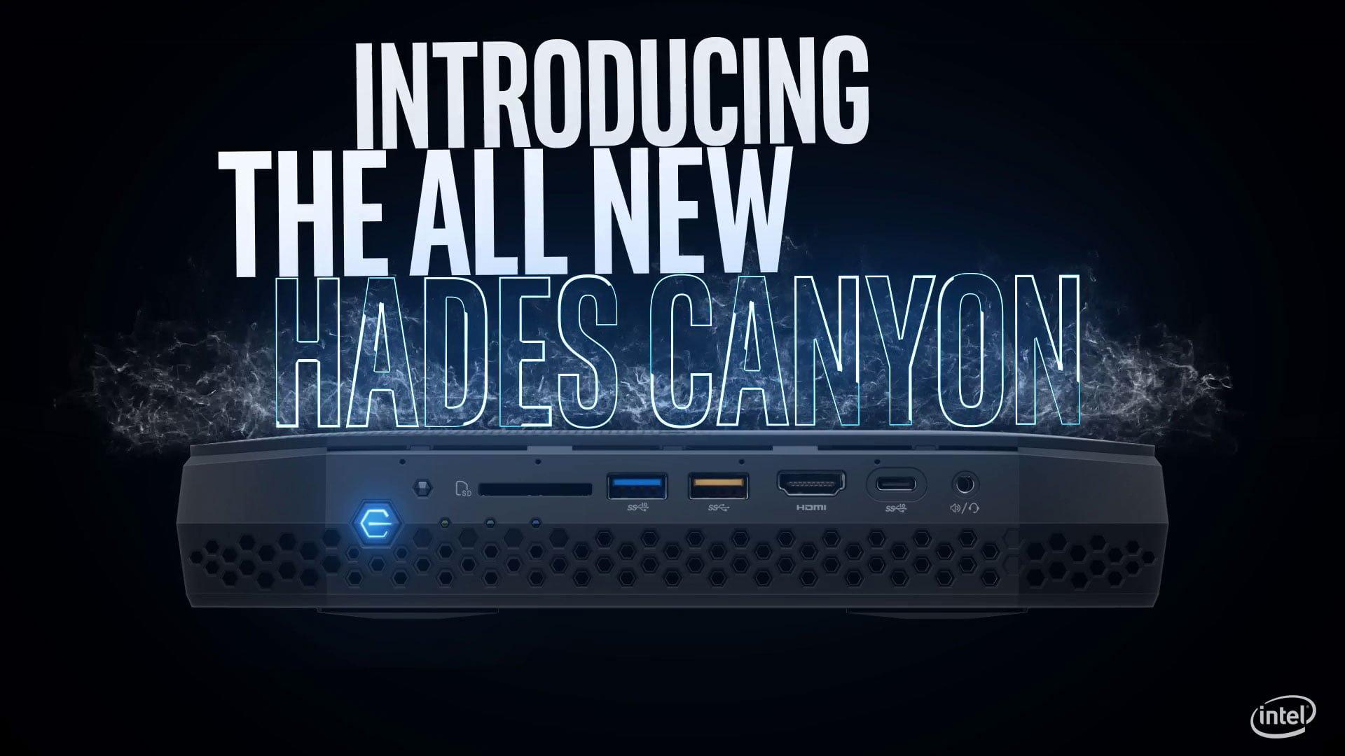 Intel NUC Hades Canyon yleisesittely