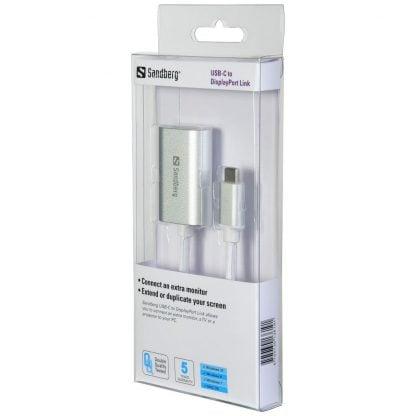 Sandberg Adapter USB-C to DisplayPort Link (136-19) - 2