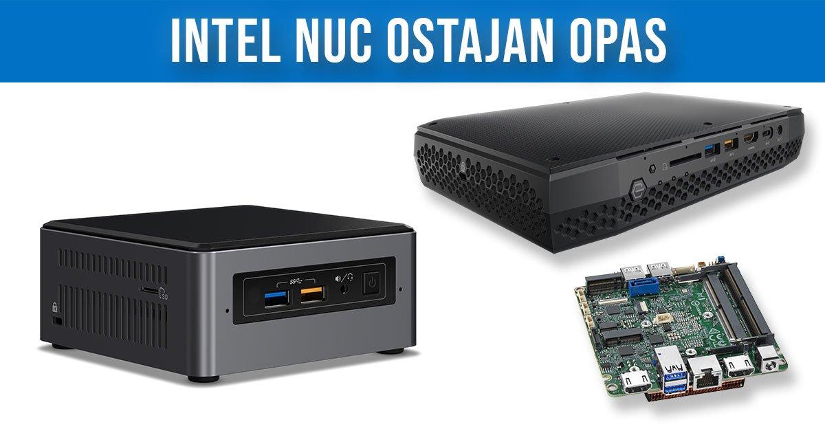 Intel NUC Ostajan Opas