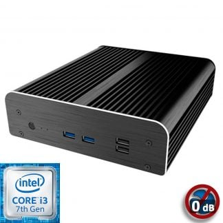 Intel NUC7 Core i3 Newton S7D passiivi Mini PC