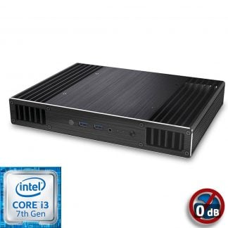Intel NUC7 Core i3 Plato X7 passiivi Mini PC