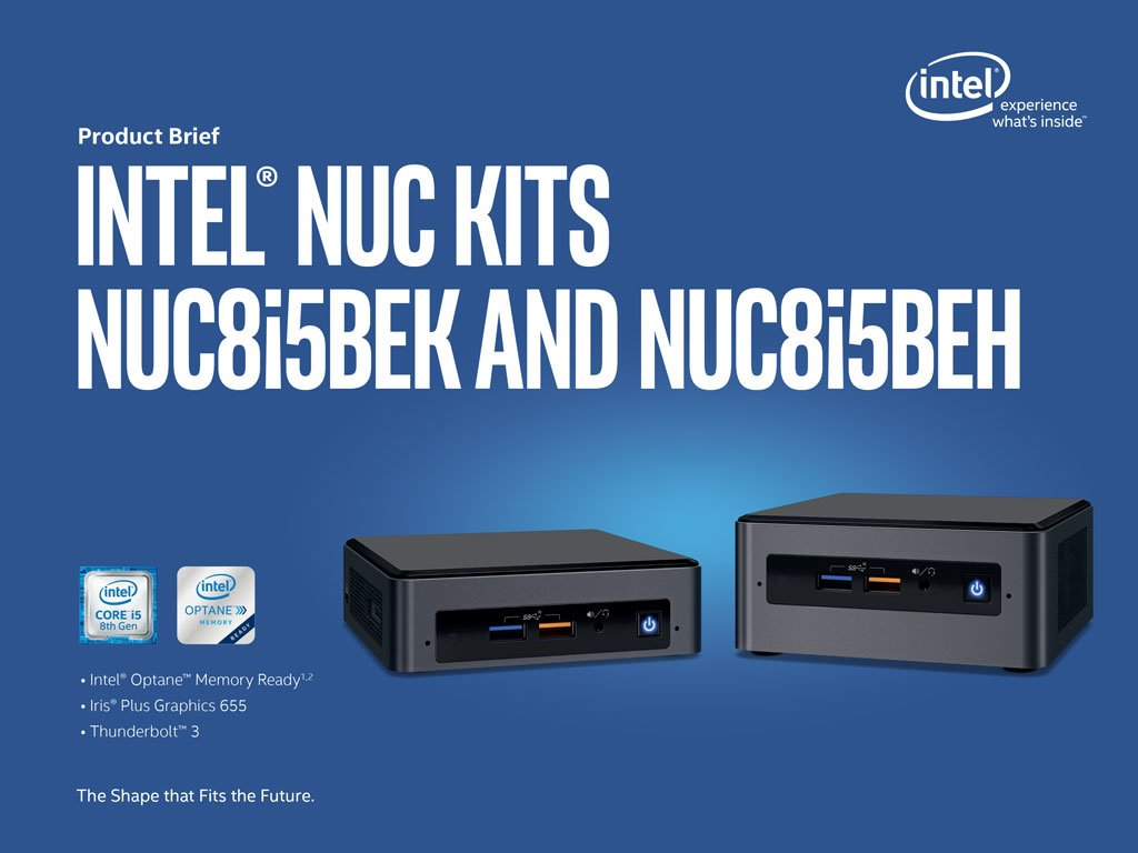 Intel NUC8i5BEK Core i5 Mini PC
