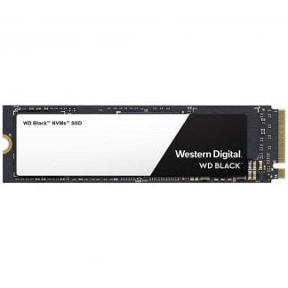 WD Black NVMe 500GB 3D TLC SSD M.2 PCIe Gen3x4 (WDS500G2X0C) - 1
