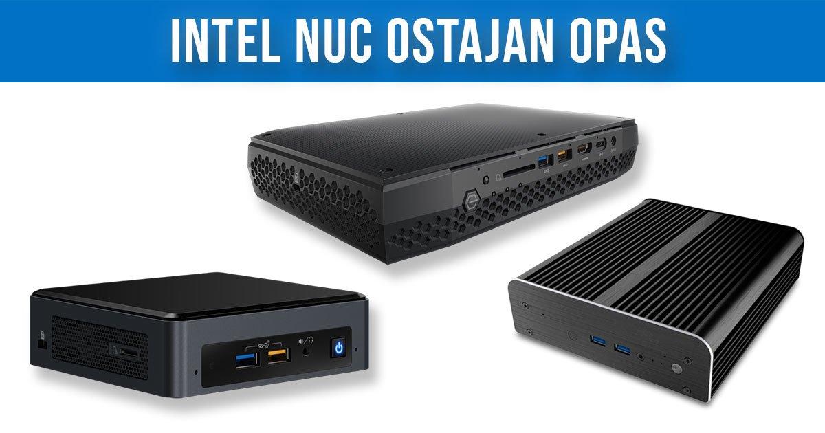 Intel NUC Ostajan Opas 2019