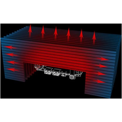 Akasa Turing FX passiivinen NUC kotelo (A-NUC52-M1B) - 9